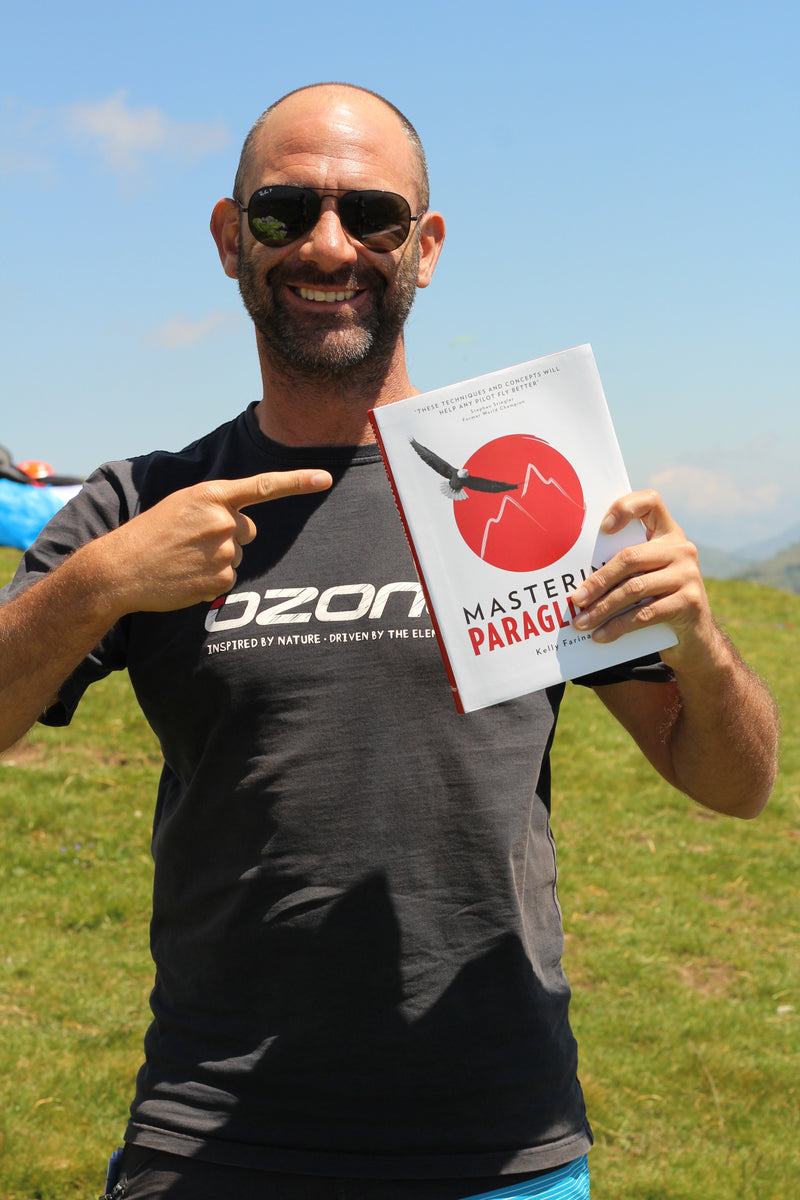 Mastering Paragliding textbook by Kelly Farina