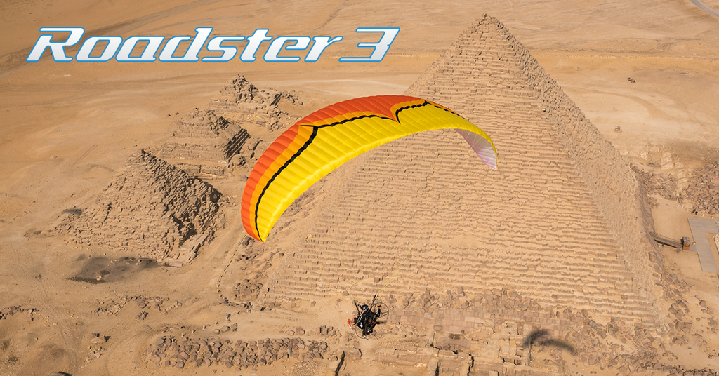 Ozone Roadster 3 Powered Paraglider Wing - Planet Paragliding