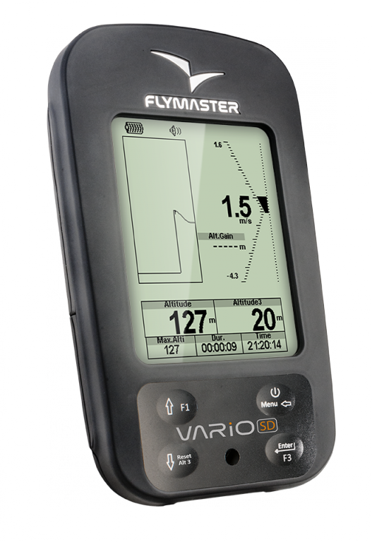 Flymaster Vario SD Flight Instrument - Planet Paragliding