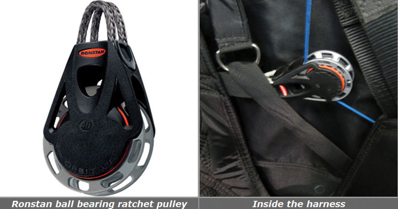 Ronstan Ratchet Pulleys - Planet Paragliding