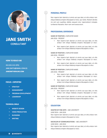resume unique modern resume cover letter template free printable