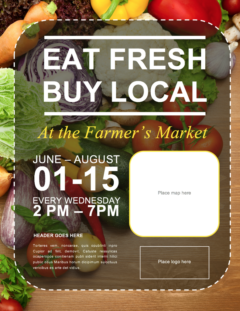 fresh produce flyer template microsoft word file diy design fresh produce flyer template microsoft word file