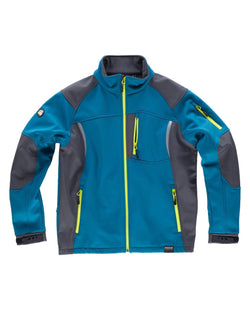 Chaqueta softshell multicolores