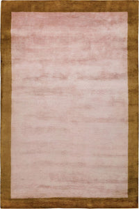 Mohair Border Rose Quartz by The Rug Company