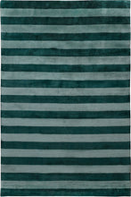 Load image into Gallery viewer, Mohair Stripe Jade by The Rug Company