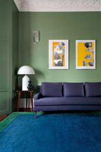Load image into Gallery viewer, Mohair Border Emerald by The Rug Company