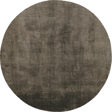 Mohair Slate Round by The Rug Company