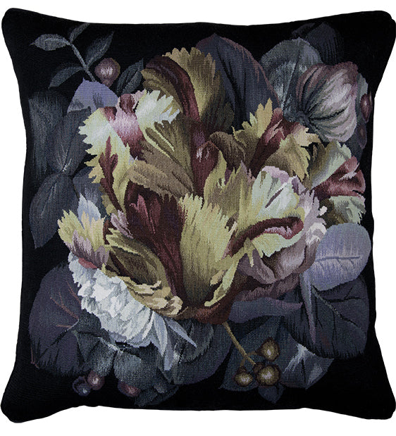 Chiaroscuro Cushion by Alexander McQueen