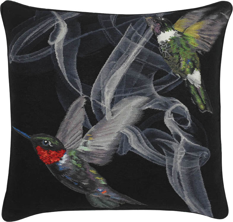 Hummingbird Cushion by Alexander McQueen