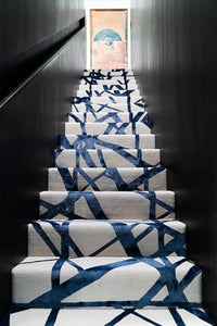 Channels Indigo Runner by Kelly Wearstler