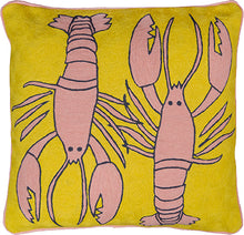 Load image into Gallery viewer, Lobster Mustard Cushion