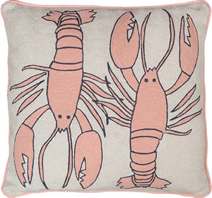 Lobster Natural Cushion