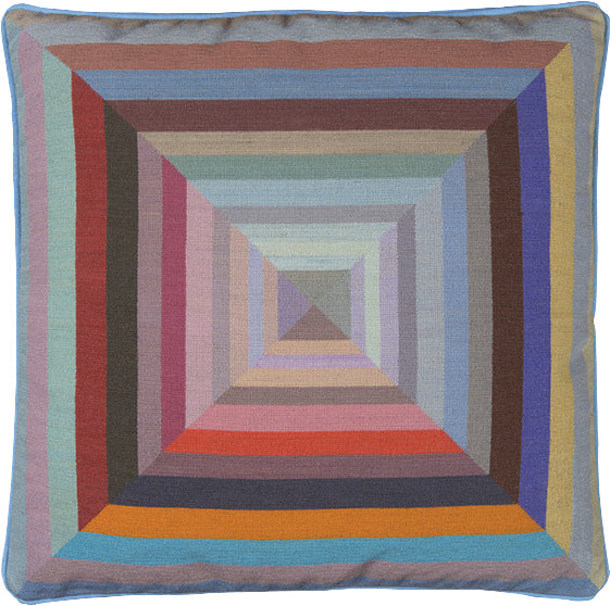 Prism Blue Cushion by Paul Smith
