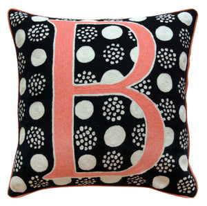 Alphabet B Cushion by Sue Timney