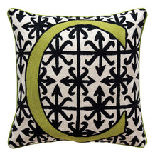 Load image into Gallery viewer, Alphabet C Cushion by Sue Timney