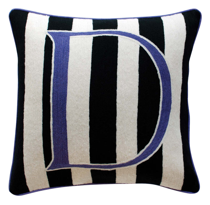 Alphabet D Cushion by Sue Timney