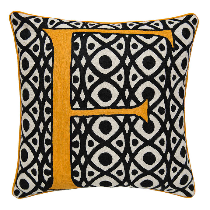 Alphabet F Cushion by Sue Timney