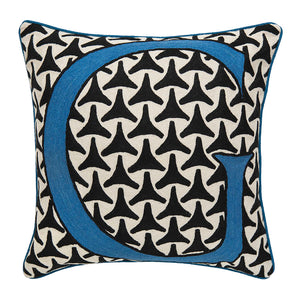 Alphabet G Cushion by Sue Timney