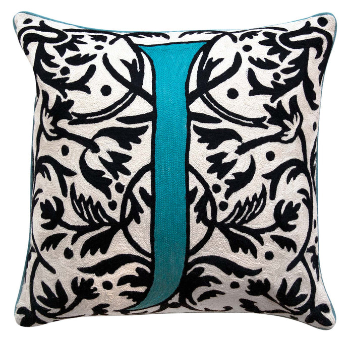 Alphabet J Cushion by Sue Timney
