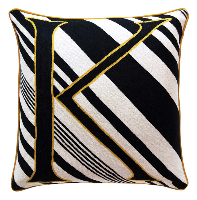 Alphabet K Cushion by Sue Timney