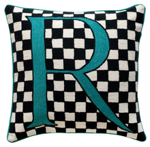 Load image into Gallery viewer, Alphabet R Cushion by Sue Timney