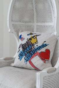 Prince Charming Cushion by Vivienne Westwood