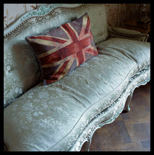 Load image into Gallery viewer, VW Flag Cushion by Vivienne Westwood