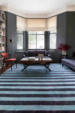 Load image into Gallery viewer, Mohair Stripe Amethyst by The Rug Company
