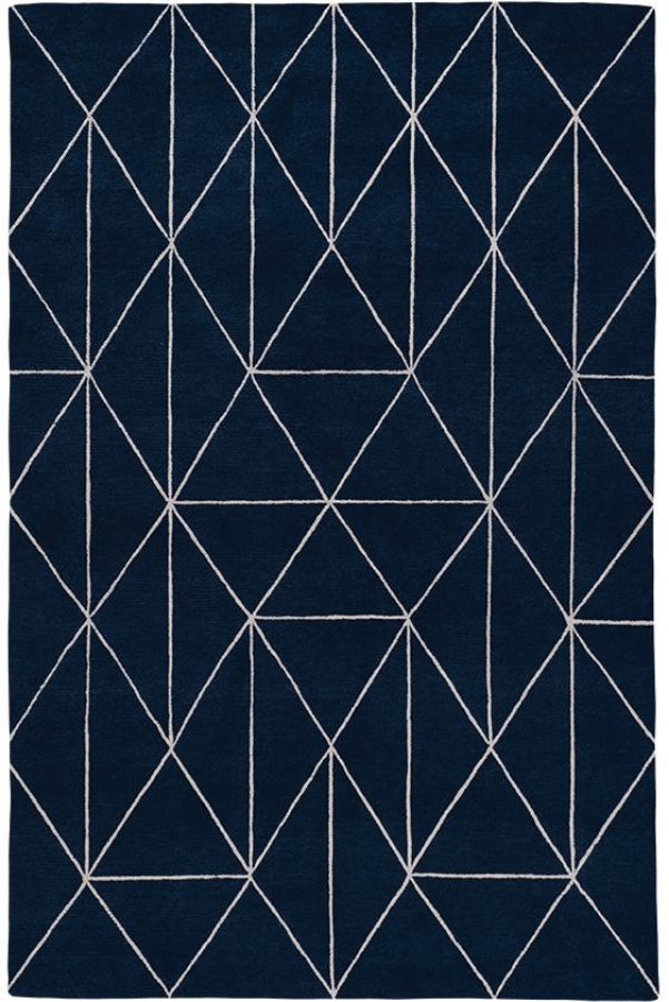 Diamond Maze Blue by The Rug Company