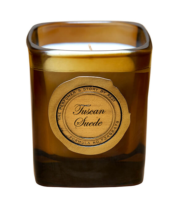 Tuscan Suede Candle by The Perfumer's Story