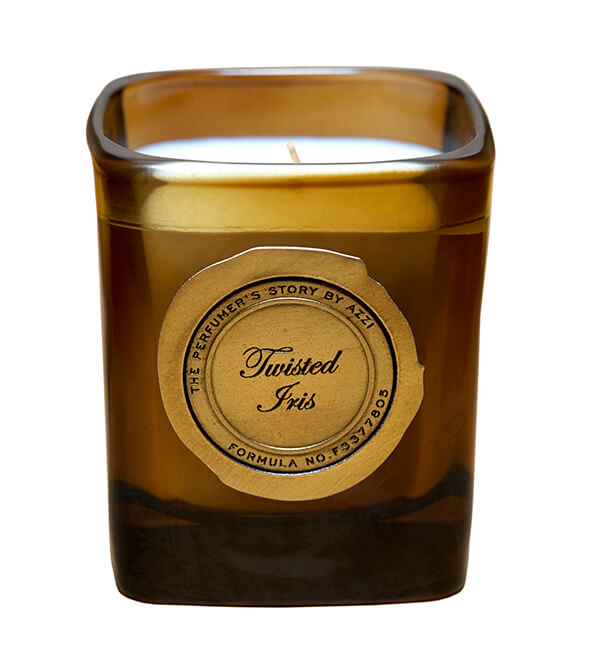 Twisted Iris Candle by The Perfumer's Story