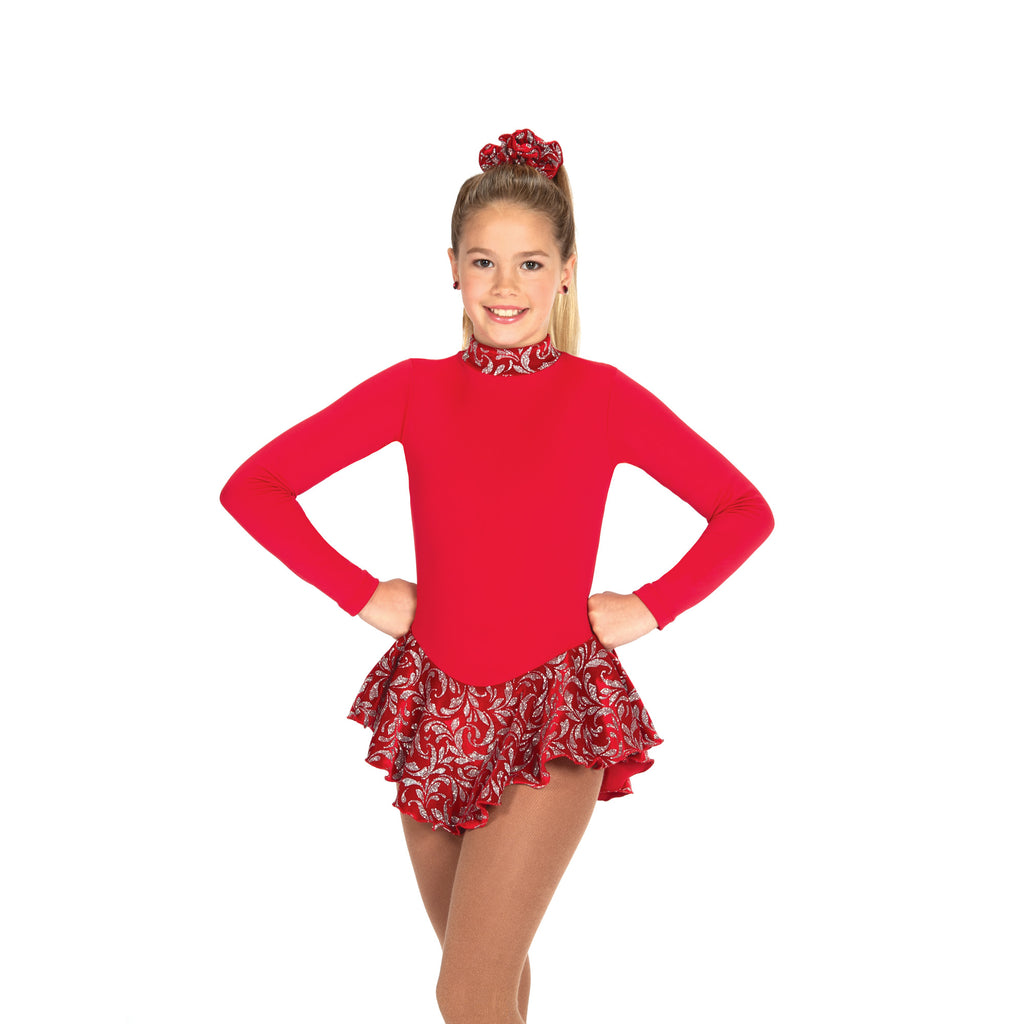 20 Fancy Fleece Dress – Ruby Red