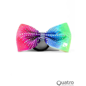 Muse Multicolour Ombre Rhinestone Bow
