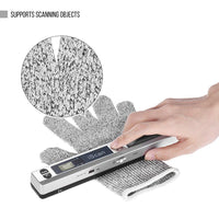 16GB MicroSD Card Portable Handheld Document Scanner - Abrahama