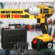 220V Rechargeable Battery Brushless Cordless Impact Wrench - Abrahama.com