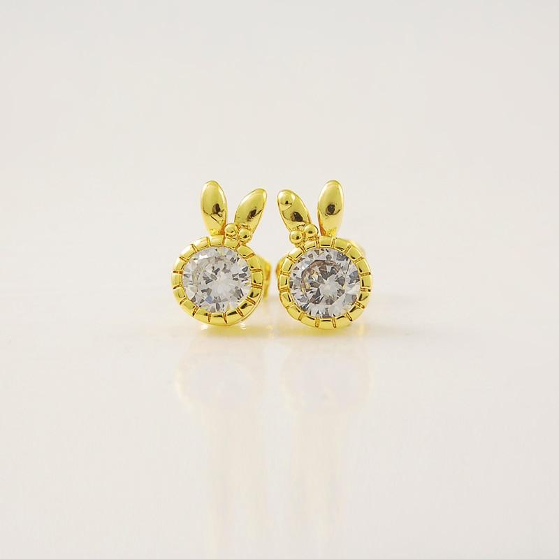 24K Gold Earrings - Abrahama.com