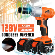 Brushless Cordless Electric Wrench Impact Socket - Abrahama