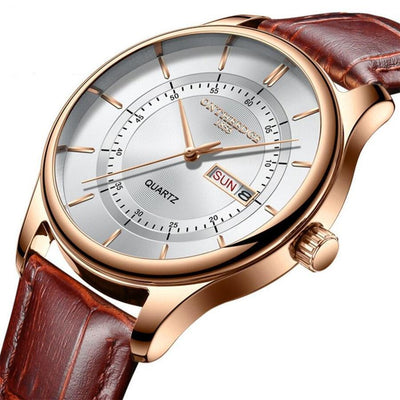 Business Men Leather Watch - Abrahama.com