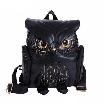 Cute Owl Backpack School Bag - Abrahama