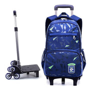 Grades 4-9 waterproof Removable Children School Bags - Abrahama