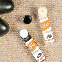 Leather Shoes and Boot Polish Rich Glossy Shiny Wax Liquid Protector Polisher - Abrahama
