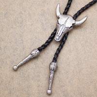 Gold ,Silver Western Texas Longhorn Buffalo Steer Cow Skull Leather - gold.archi