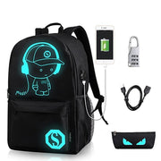 Smart School Backpack Bag - Abrahama