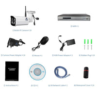 Surveillance Security System NVR Motion Detection - Abrahama
