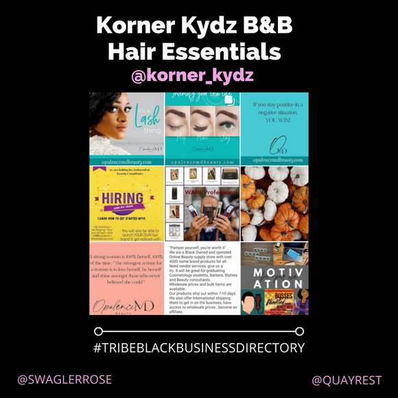 Korner Kydz B&B Hair Essentials