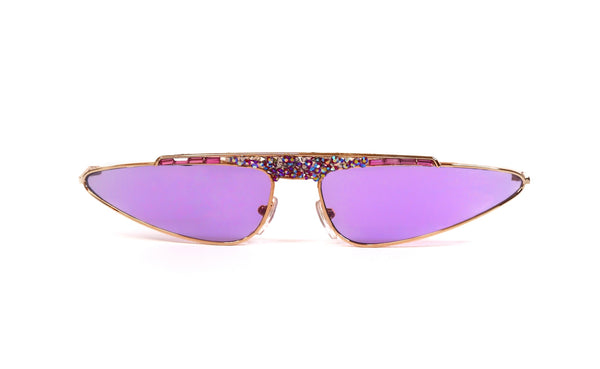 Cay eye PURPLE crystal sunglasses