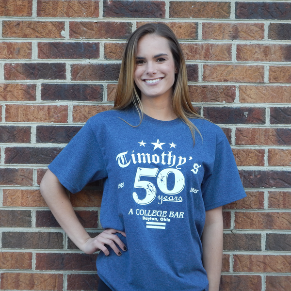 Timothy's 50th Anniversary T-shirt