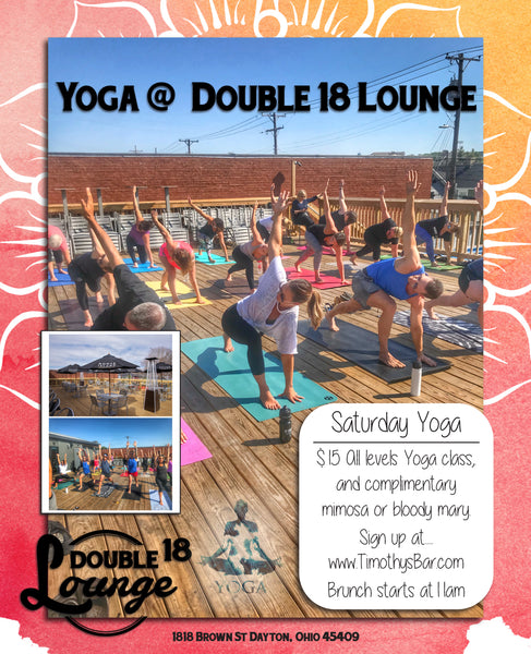 Saturday Yoga @ Double 18 Lounge