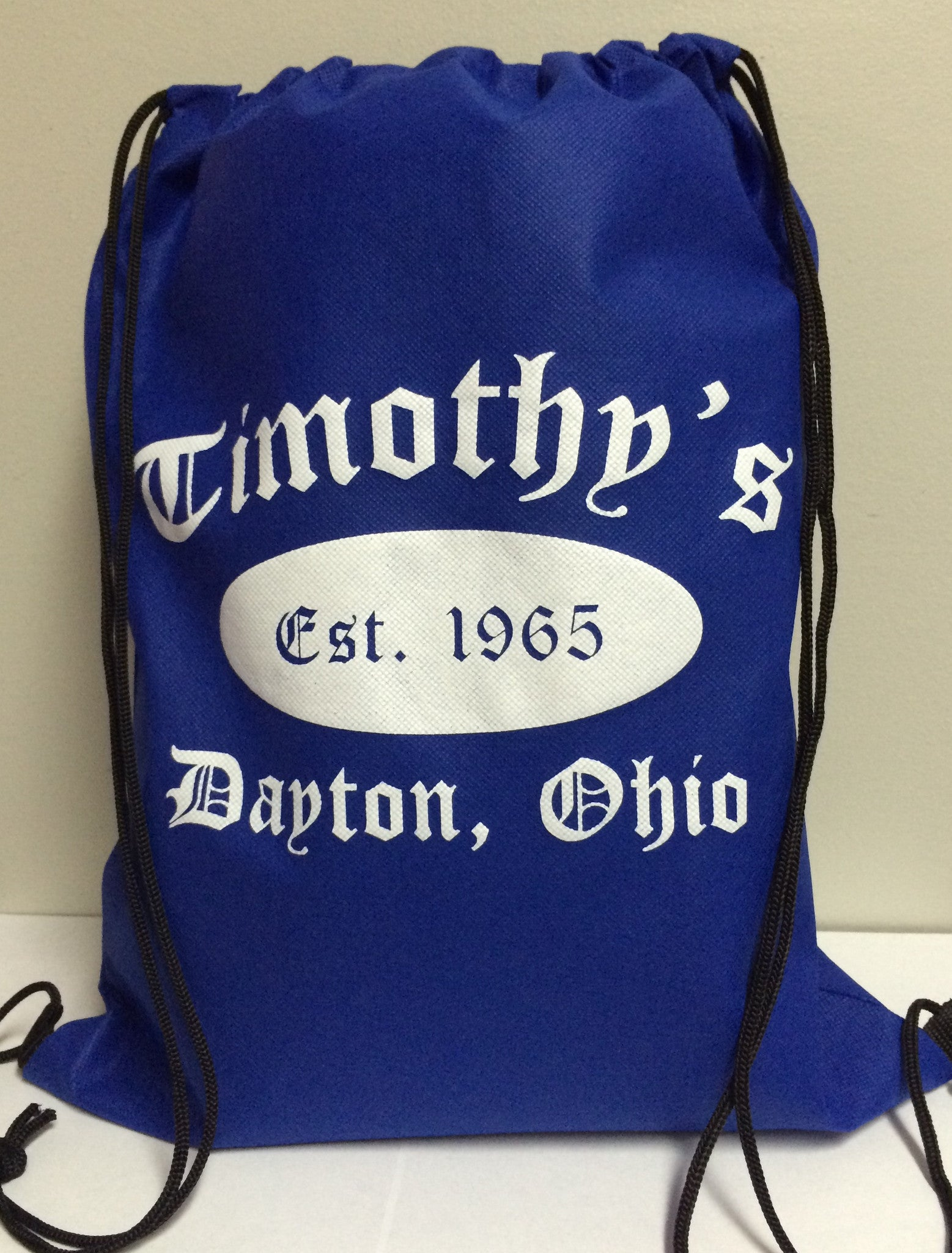 Timothy's Drawstring Backpack