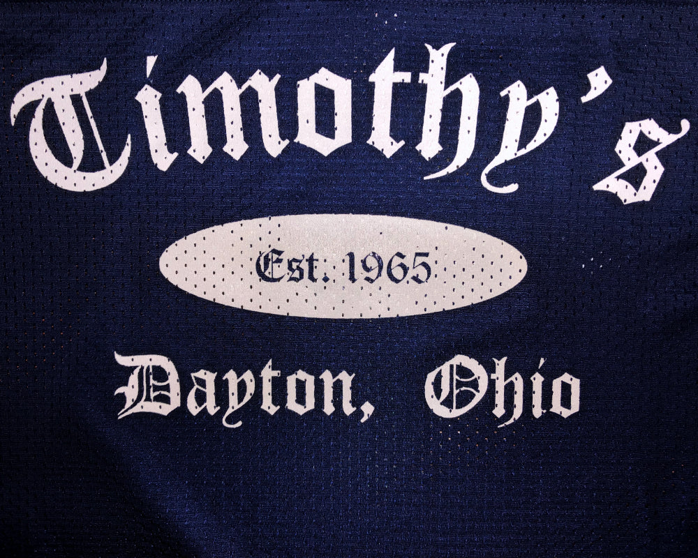 Timothy's Football Jersey